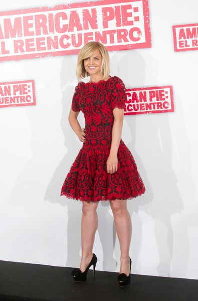"Mena Suvari Legs | Mena Suvari attends ""American Reunion"" Madrid Photocall. Mena ..."