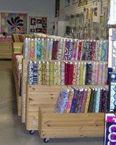 rolling fabric bolt storage - Google Search