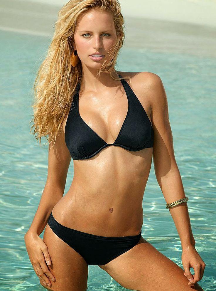 Karolina Kurkova - Victoria's Secret MEGAUPLOAD   Bikini ...