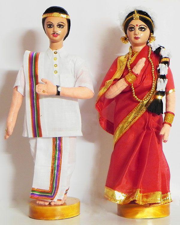 Andhra Bridal Dolls (Cloth)