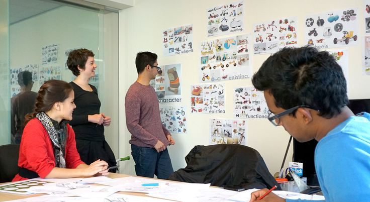 Mada industrial design students recently undertook a three for Design consultancy internship