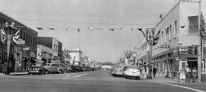 Downtown Huntington Beach | 1950s | Pinterest