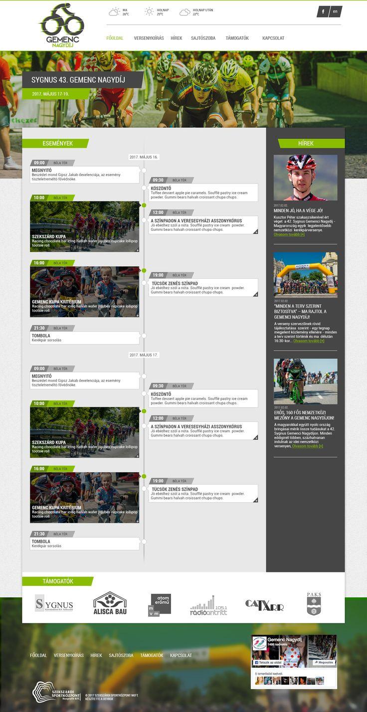 GemencGP website (2017, webdesign, sitebuild, WordPress dev)