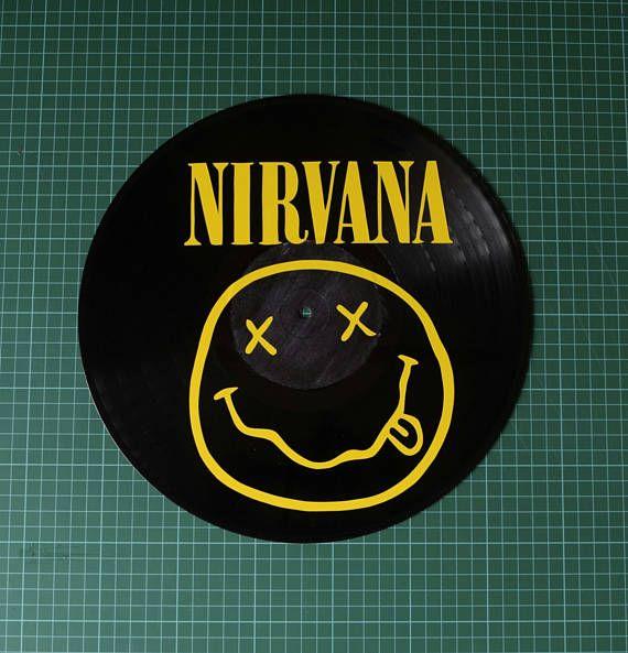 Disco de Acetato Personalizado. Nirvana