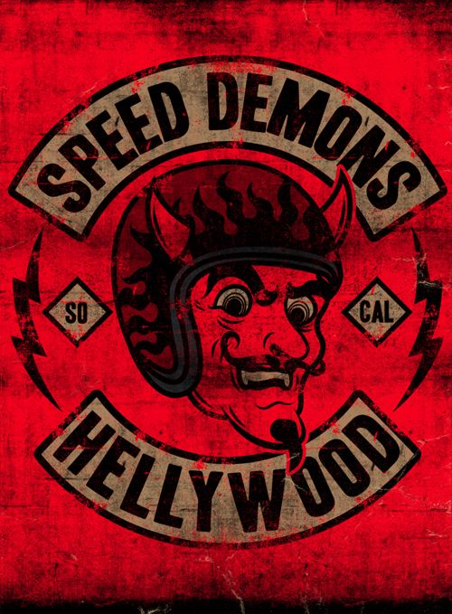 SPEED DEMONS - LA MARCA DEL DIABLO by Maleficio Rodriguez, via Behance