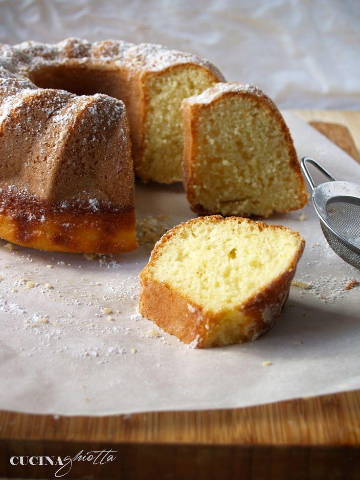 Cucina Ghiotta: Le torte semplici da colazione: la ciambella allo yogurt