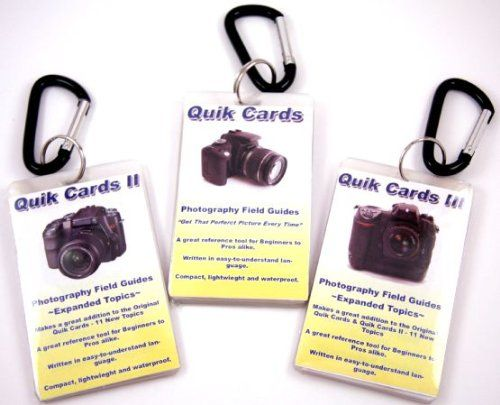 Amazon.com: 3-Pack DSLR & SLR Cheatsheets. Pocket sized quick reference cards. Complete series for Canon Rebel XT XTi XS XSi T1i T2i T3 T3i ...