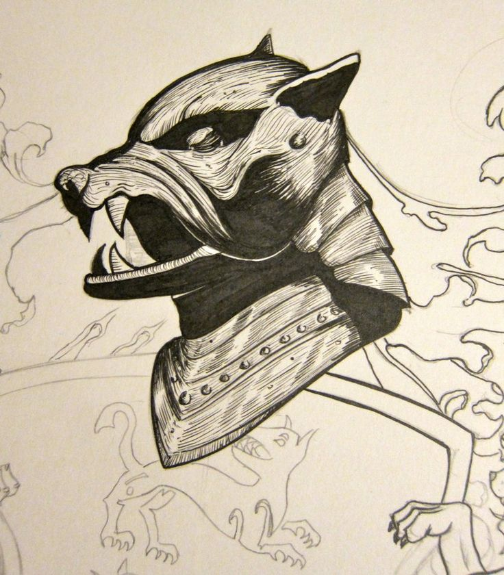 The Hound helmet by jmdragunas