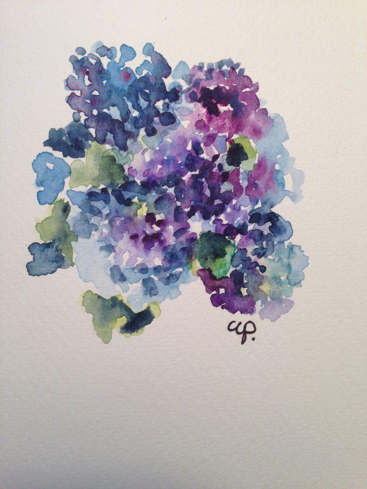 original watercolor cards gardenblooms.etsy.com
