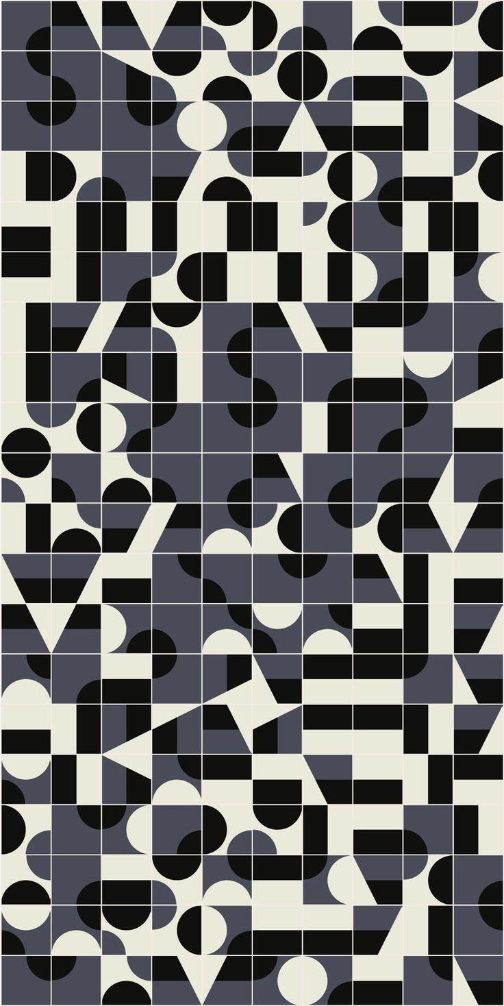 Revêtement de sol/mur en grès cérame émaillé PUZZLE Collection Puzzle by MUTINA design Barber