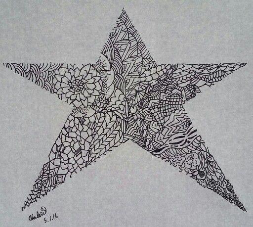 #Colour in #star