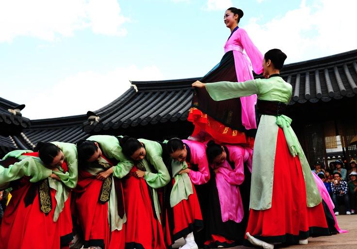 On February 15, 1966, ganggangsullae was designated as Important Intangible Cultural Properties of Korea