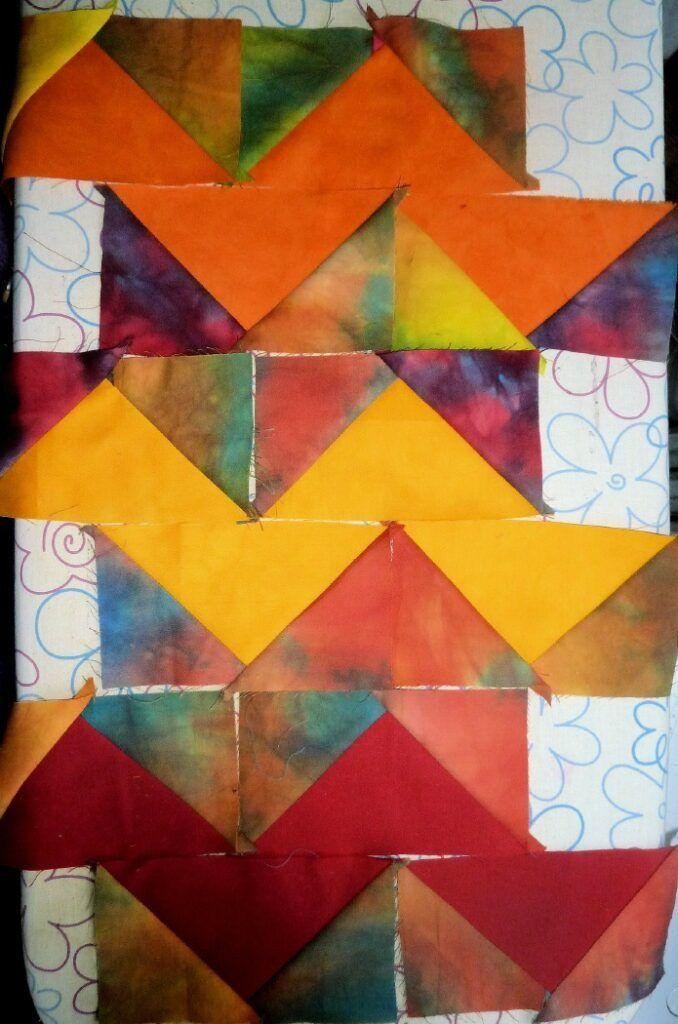 Patchworken Fur Anfanger Einfache Muster Stoffmengen Berechnen Bugeln Bernina Blog Patchwork Muster Decke Quilts Patchwork Und Quilten