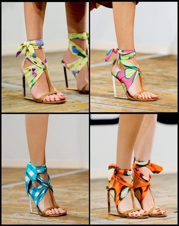 Easy shoe transformations ... #art #diy