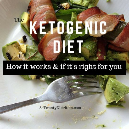 Ketogenic Diet Review - Weight Loss, Safety and Does it Really Work? Get the pros and cons of the keto diet from Christy Brissette, media dietitian, 80 Twenty Nutrition http://www.80twentynutrition.com