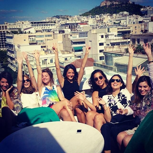 #FunFearlessFemales 2014 by @cosmopolitangr at NEW Hotel! #FFF #FFF2014 #cosmopolitan #Greece #event #aim #aimgr #happy #smiles #love