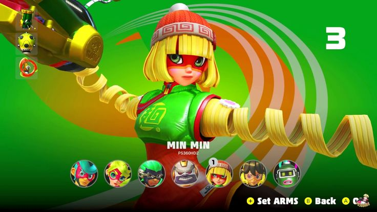 ARMS: Global TestPunch - ALL Characters Online Battles Gameplay (1vs1, 2...