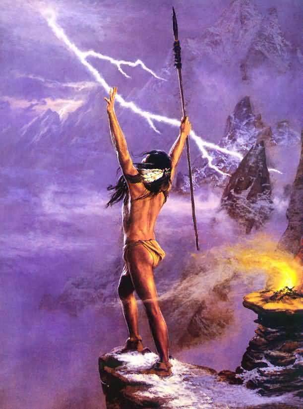 spirit do Bem: Oração ao Caboclo Ventania