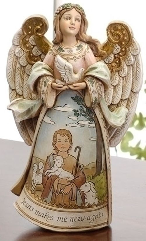 Easter gifts 286 pinterest jesus makes me new again angel easter story teller figure jesus with lamb negle Gallery