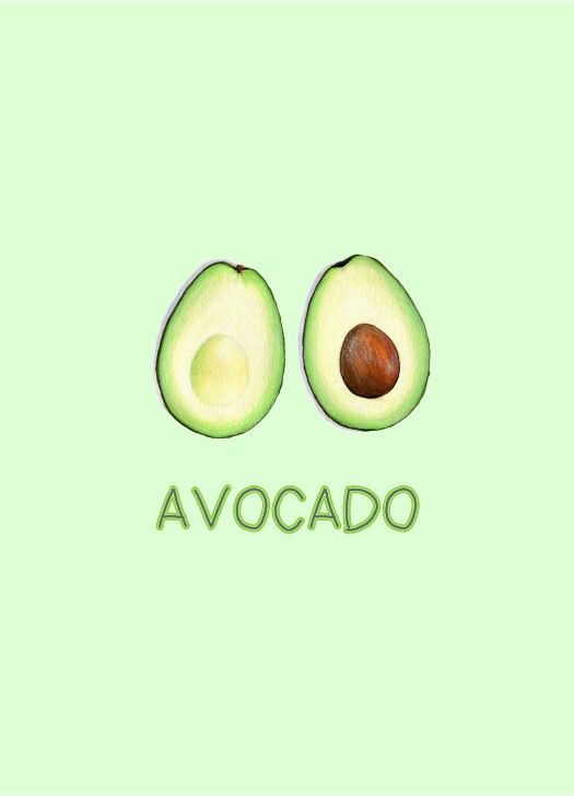 Tumblr avocado wallpaper Avocado art, Cute avocado