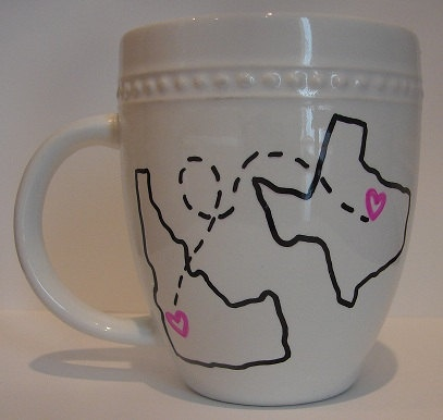 The 10 best images about crafts on pinterest you can make these yourself for 1 if you have a sharpie dollar store long distance mugsmug sharpiegoing away giftsmug solutioingenieria Choice Image
