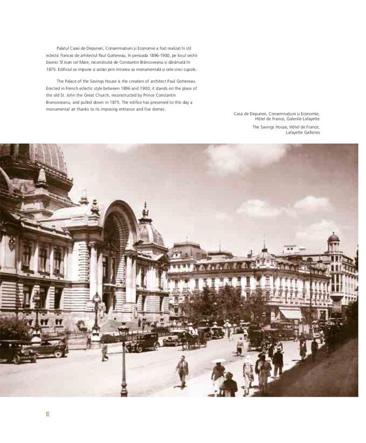 Casa de depuneri, consemnatiuni si economii, Hotel de France, Galeriile Lafayette