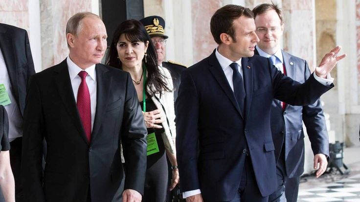 """#Macron #Putin – Macron Meets Putin And Blasts Russian State-owned Media As 'Lying Propaganda' : """"France remembers how important relations with Russia are,"""" Russian state TV declared as President Vladimir Putin met new French President Emmanuel Macron in the lofty surroundings of Versailles palace on Monday. Macron, who pulled off an unlikely victory in the …"""