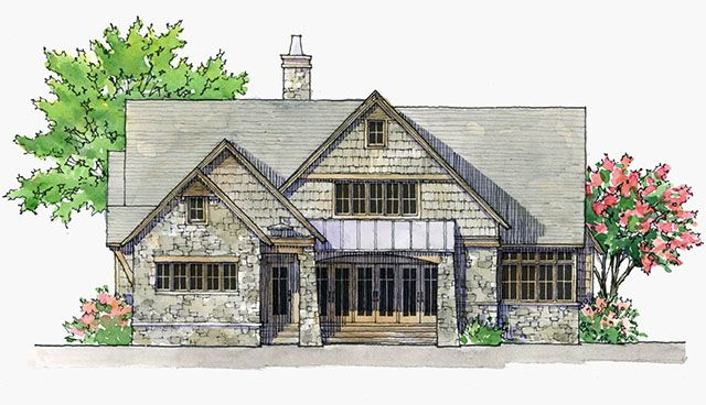 House plans southern living house plans and detached for Southern living detached garage plans