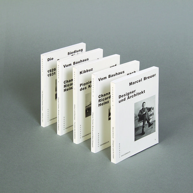 Bauhaus Pocket Books by HORT