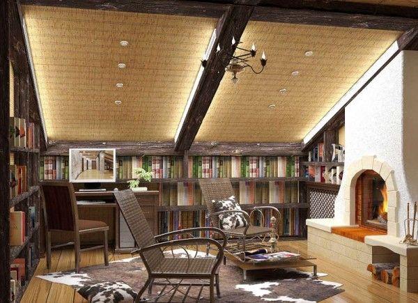 Отделка потолка в деревянном доме: популярные варианты — L2aurora.ru