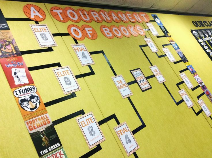 Book Madness: A Tournament of Book - Such a fun way to include March Madness in the reading classroom. :)