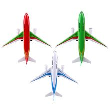 US $7.09 Electric Air Bus Mode Kids Airliner Passenger Flashing LED Light Airplane Toy Planes for Children Birthday Gift. Aliexpress product