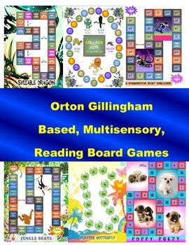 This publication offers seven printable board games that cover the six  types of syllables (closed, open silent e, r-combination, consonant le, a...