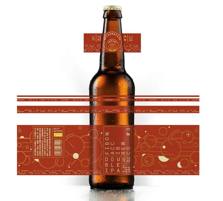 Fibonacci Brew Co. (Student Project) on Packaging of the World - Creative Package Design Gallery