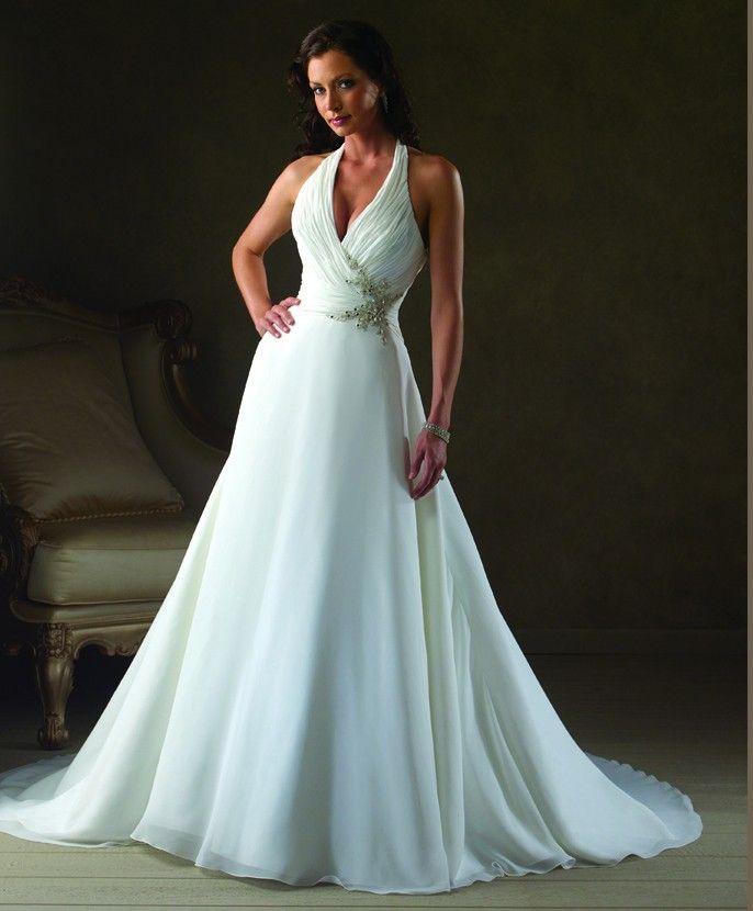 1000  images about Wedding dresses short halter on Pinterest ...