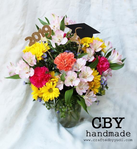 Graduation Floral Picks