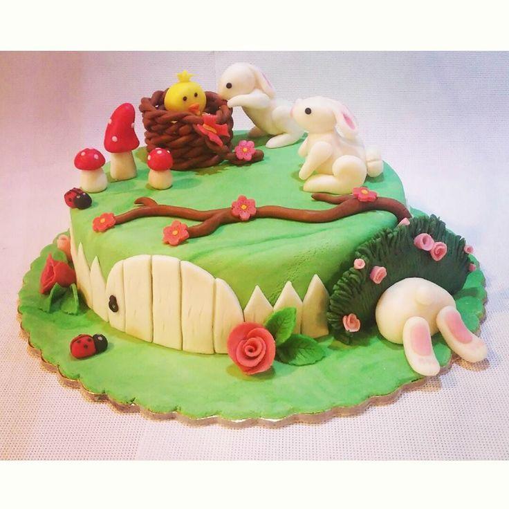 Easter cake! <3