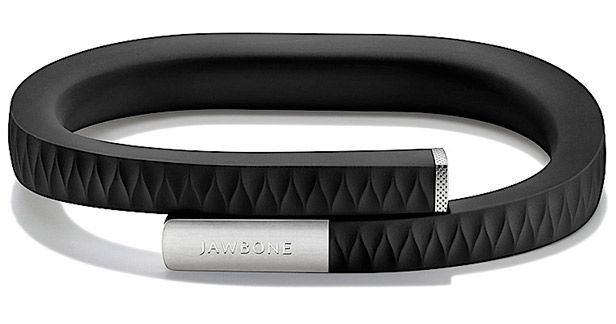 """The Up"" by Jawbone monitors your sleep and activity. For my husband."