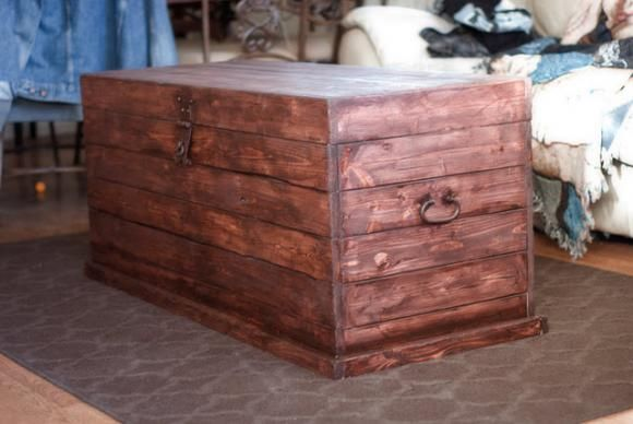 great plans for building a trunk!