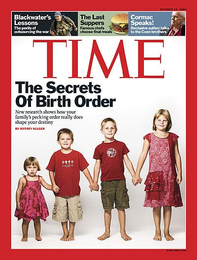 Great article about birth order
