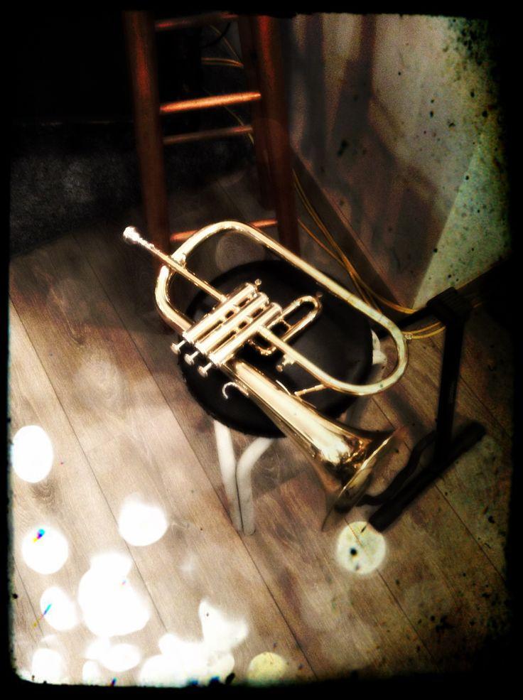 ...trumpet vintage photo by Gianna Kostopoulou