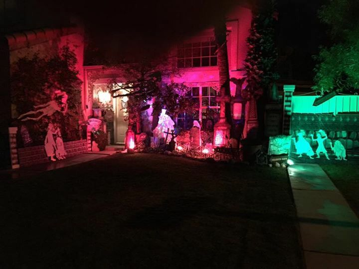 My Own Props- Halloween 2016- Haunted Mansion - Front Yard | HALLOWEEN 2016 | Pinterest ...