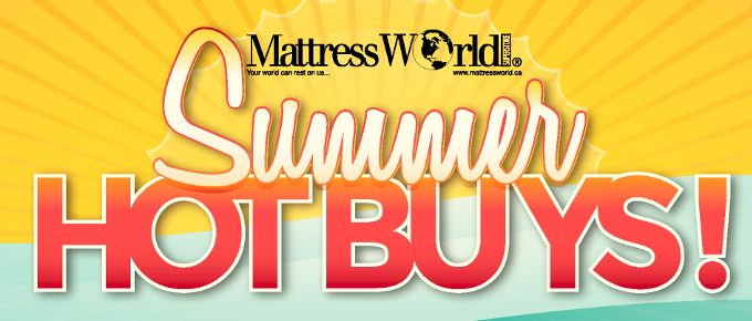 Summer is here and the deals are HOT!  Visit your local dealer for best prices and selection.