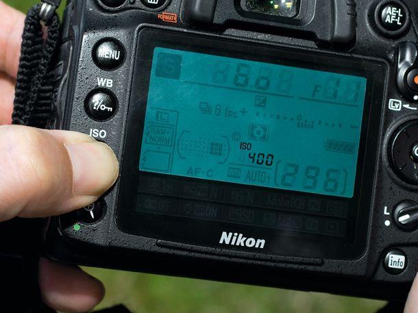 Melhores configurações da câmera para fotografia de esportes - etapa 2