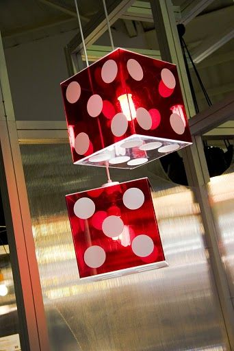 Depending on the celing, can we have some of these above the tables? if not I'm sure we can incorporate them into the centerpieces :D