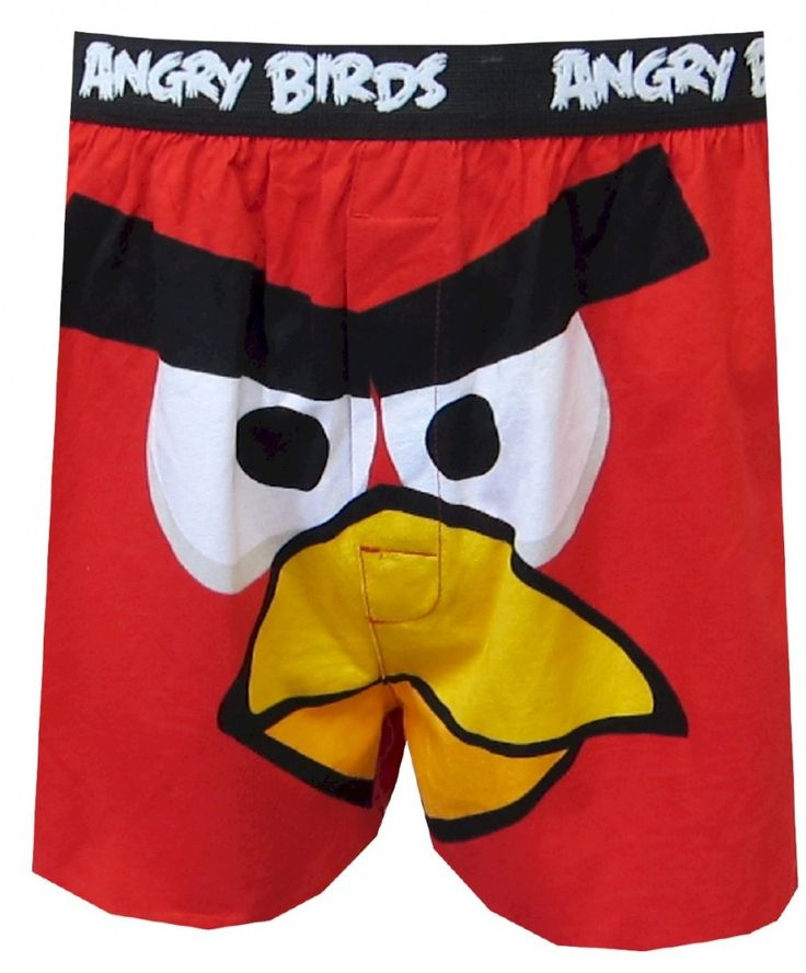 #AngryBirdsBoxers The Character Red in the game Angry Birds is very close to a man standing in the role of a brother!