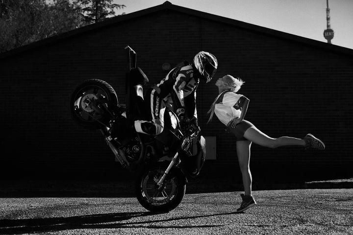 Baby's on Fire Music Video #dieantwoord #buell