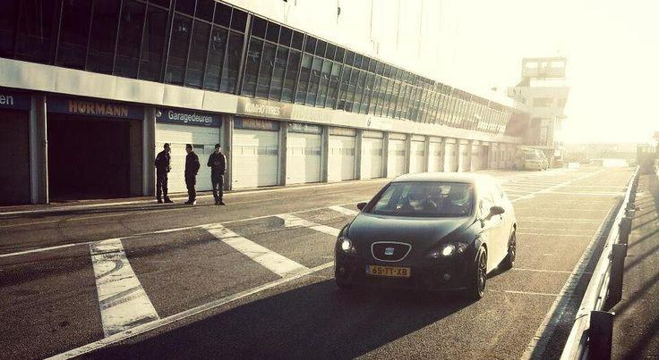 Cupra at Zandvoort circuit