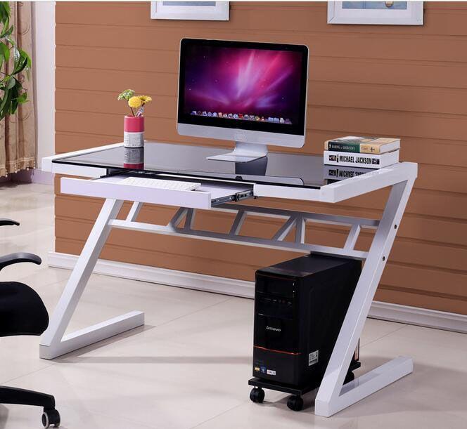 Studio scrivania Chilren Z stile di scrittura scrivania tavoli Computer scrivania Portatile con supporto per la tastiera
