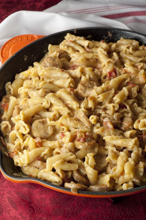 Chicken sausage pasta casserole recipes